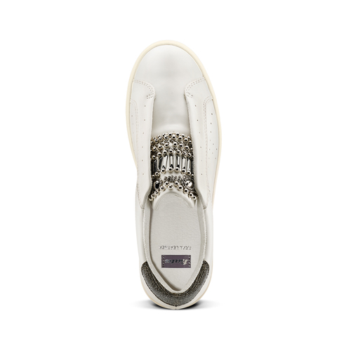 Slip on da donna bata, bianco, 541-1163 - 17