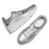 Sneakers silver Platform bata, 624-1158 - 26