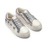 Sneakers da bimba con pietre mini-b, bianco, 321-1304 - 16
