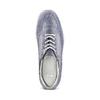 Sneakers casual con lacci bata, blu, 523-9306 - 17