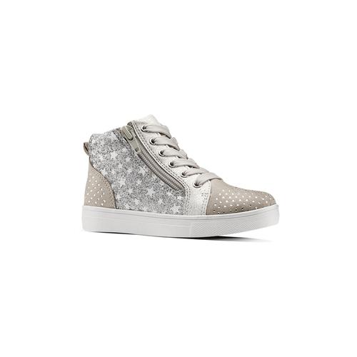 Sneakers da bambina con glitter mini-b, 229-2107 - 13