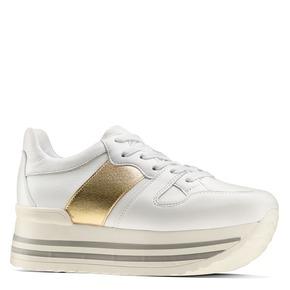 Sneakers Platform da donna bata, bianco, 644-1198 - 13