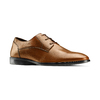 Stringate in pelle da uomo bata, marrone, 824-4357 - 13