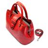 Borsa a mano in similpelle bata, rosso, 961-5216 - 17