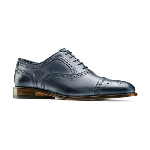 Stringate con lavorazione Brogue bata-the-shoemaker, blu, 824-9337 - 13