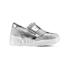 Sneakers con frange bata, grigio, 614-2131 - 13