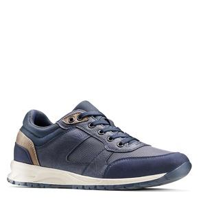 Sneakers sportive da uomo bata, blu, 841-9151 - 13