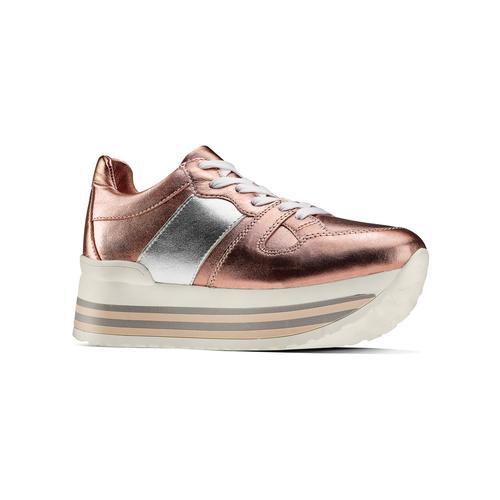 Sneakers Platform bata, 644-0198 - 13