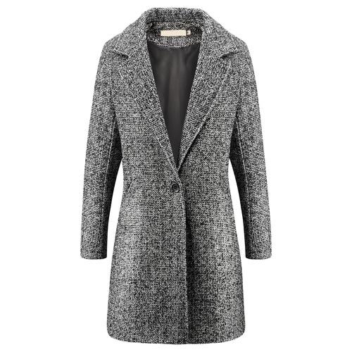Cappotto oversize da donna bata, grigio, 979-2246 - 13