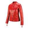 Giacca in vera pelle da donna bata, rosso, 974-5180 - 16