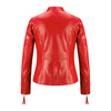 Giacca in vera pelle da donna bata, rosso, 974-5180 - 26