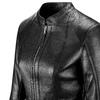 Giacca in vera pelle bata, nero, 974-6180 - 15