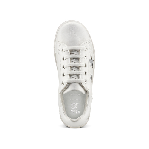 Sneakers Made in Italy da bambina mini-b, bianco, 321-1319 - 15