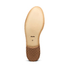 Stringate Brogue in suede bata, beige, 523-8482 - 19
