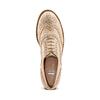 Stringate Brogue in suede bata, beige, 523-8482 - 17