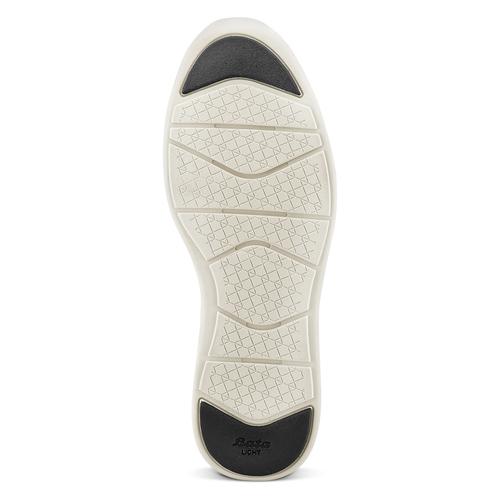 Slip-on in pelle bata-light, nero, 834-6162 - 17