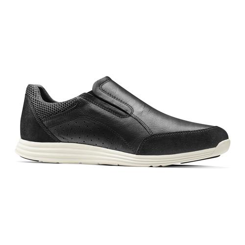 Slip-on in pelle bata-light, nero, 834-6162 - 13