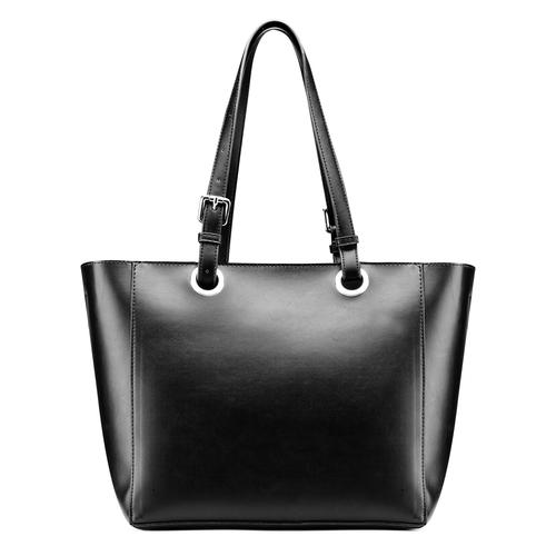 Shopper da donna bata, nero, 961-6232 - 26