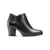 Ankle boots in vera pelle bata, nero, 724-6186 - 13
