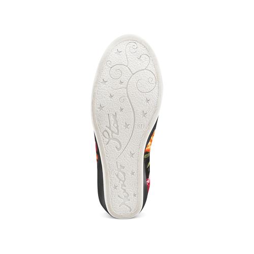 Sneakers con zeppa interna bata, nero, 729-6193 - 19