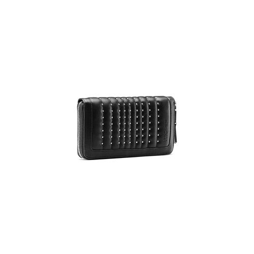 Portafoglio in similpelle bata, nero, 941-6157 - 13