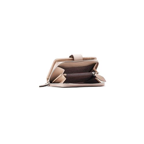 Portafoglio da donna bata, beige, 941-8160 - 16