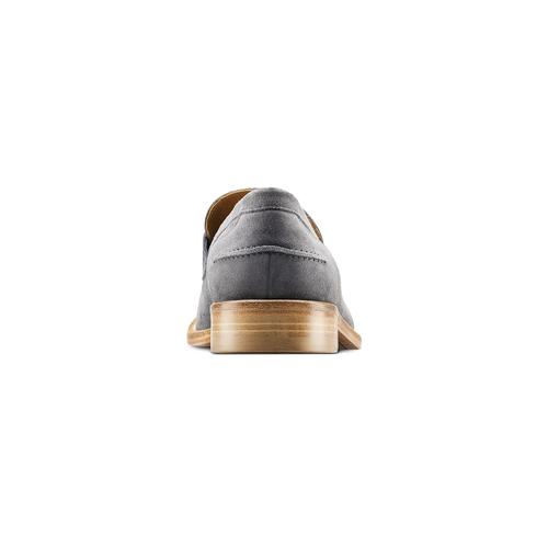 Mocassini in pelle scamosciata bata-the-shoemaker, 813-2116 - 16
