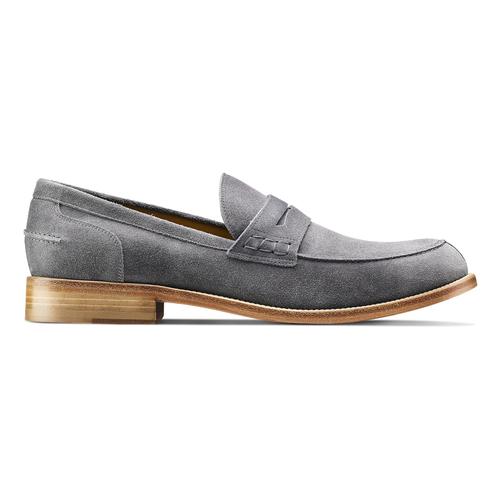 Mocassini in pelle scamosciata bata-the-shoemaker, 813-2116 - 26