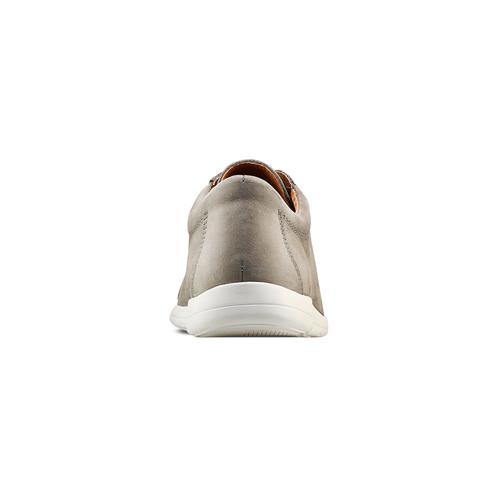 Sneakers in nabuk da uomo bata, beige, 846-2183 - 15