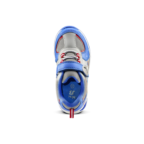 Sneakers da bambino con luci mini-b, blu, 211-9102 - 15