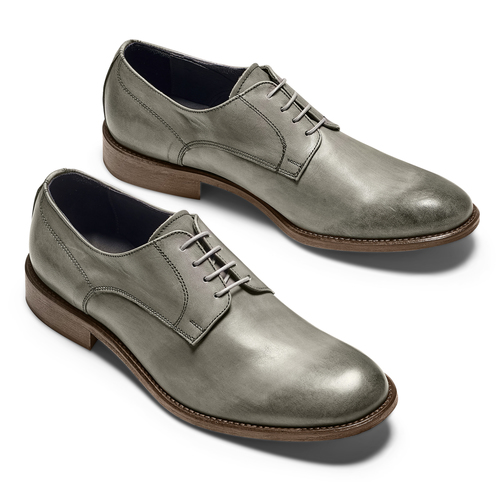 Derby in vera pelle bata-the-shoemaker, 824-2332 - 26