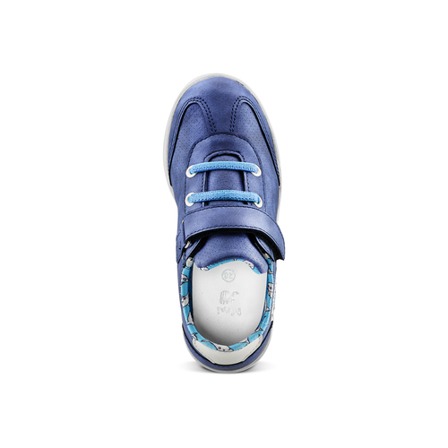 Sneakers Sharks da bambino mini-b, blu, 211-9191 - 15