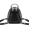 Zainetto con ampia zip bata, nero, 961-6315 - 26