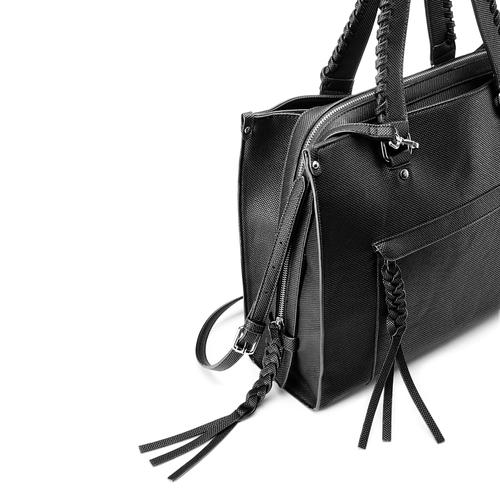 Shopper da donna bata, nero, 961-6238 - 15