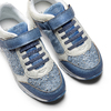 Sneakers da bimba con strass mini-b, blu, 329-9348 - 26