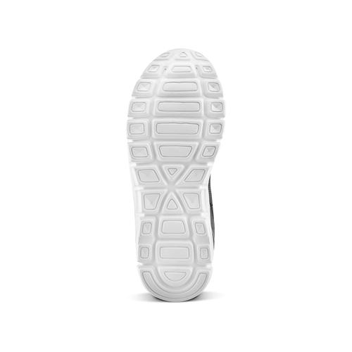 Sneakers da bimbo senza lacci mini-b, nero, 319-6152 - 19