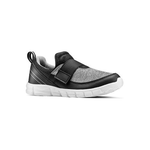 Sneakers da bimbo senza lacci mini-b, nero, 319-6152 - 13