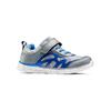 Sneakers da bambino con elastici mini-b, grigio, 319-2148 - 13