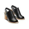 Sandali con zip bata, nero, 721-6254 - 16