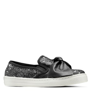 Slip On da bambina mini-b, nero, 329-6337 - 13