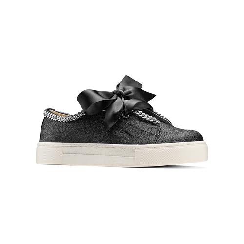 Sneakers senza lacci da bambina mini-b, nero, 321-6307 - 13