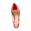 Sling back Insolia insolia, rosso, 724-5196 - 17
