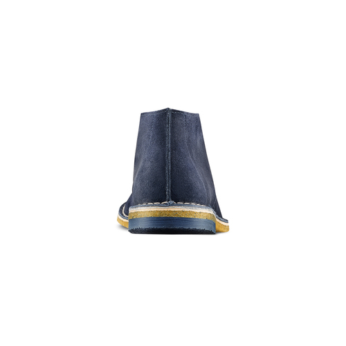 Polacchini in suede bata, blu, 823-9291 - 15
