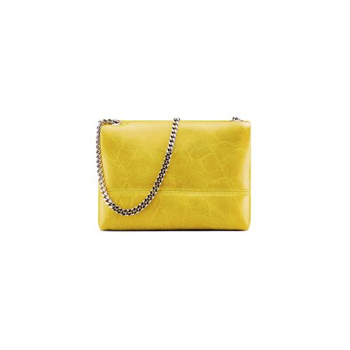 Minibag in vera pelle bata, giallo, 964-8249 - 26