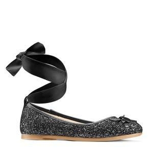 Ballerine glitterate mini-b, nero, 329-6219 - 13