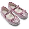 Ballerine con glitter da bambina mini-b, rosa, 229-5103 - 16