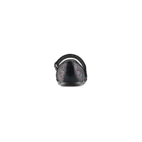 Ballerine con cinturino da bambina mini-b, nero, 229-6103 - 15