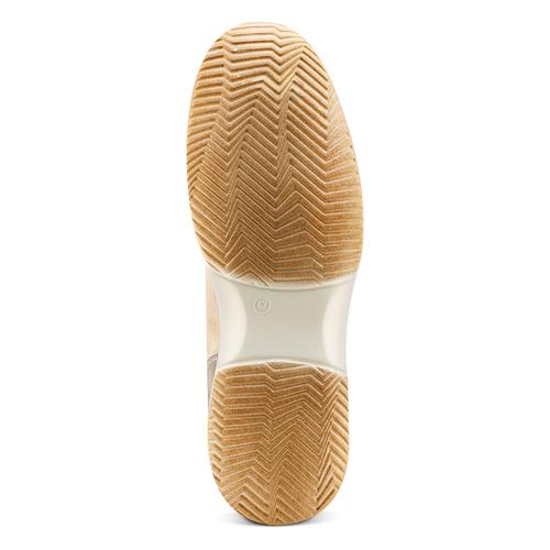 Sneakers casual da uomo bata, beige, 849-8162 - 19