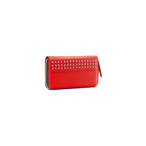 Portafoglio in similpelle bata, rosso, 941-5170 - 13