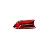 Portafoglio in similpelle bata, rosso, 941-5170 - 16